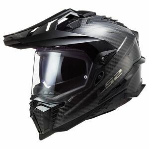 LS2 MX701 Explorer C Gloss Carbon Motorcycle Motorbike Off Road Helmet