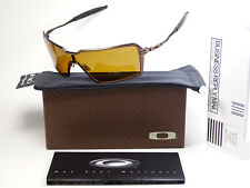 Oakley Probation Toast Bronze Polarized Sonnenbrille Inmate Deviation Felon Dart