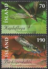 ICELAND Sc. 1121-2 Insects 2007 MNH