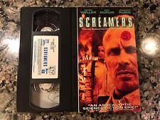 Screamers VHS! 1995 Thriller! RoboCop 2 Shakedown Total Recall Imposter