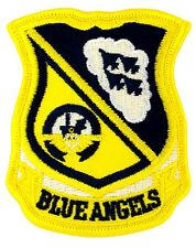 """US Navy Blue Angels Patch (180) 2 3/4"""" x 3 1/4"""" Embroidered Patch 54804"""