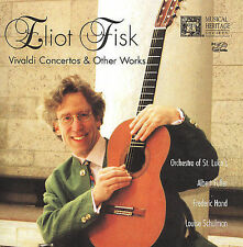 VIVALDI CONCERTOS & OTHER WORKS by Eliot Fisk New CD Musical Heritage Society