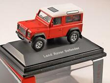 Schuco LAND ROVER DEFENDER 90 SWB in Red - 1/72 scale model