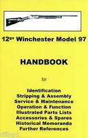 Winchester Model 97 Assembly, Disassembly Manual