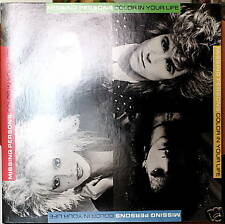 MISSING PERSONS: Color in Your Life - MT 1986 LP