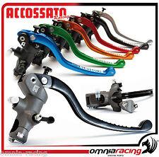 Accossato Racing Pompa Freno Radiale 19x19 Strada Pista CY039 - Brake Pump
