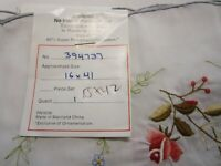 Vintage Belcrest Table Runner Rose Applique Embroidery Scalloped Doilies NOS