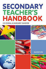 Secondary Teacher's Handbook,Margaret Sangster, Lyn Overall,Excellent Book mon00