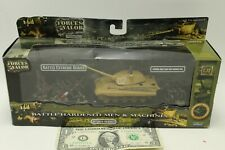 NEW Unimax Forces Of Valor 1:72 German King Tiger And Soldier Set No. 95701
