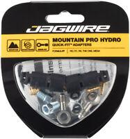 Jagwire Mountain Pro Brake Hydraulic Hose Quick-Fit Adaptor Formula R1R R1 T1 RO