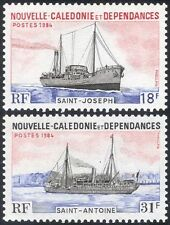 New Caledonia 1984 Ships/Boats/Freighter/Commerce/Trade/Nautical 2v set (n22466)