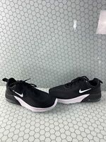 Nike Air Max Motion 2 Black Lace Up Low Top Running Sneakers Men's Size 10