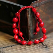 Original hand-woven lovers  red bean lucky love bracelet Y022