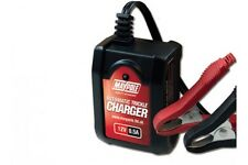 12v 0.5A AUTOMATIC TRICKLE BATTERY CHARGER wet agm gel maintenance free