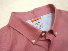 Jack Spade 100% Cotton Red Micro-stripe Pattern Sport Shirt  XL NWT $98