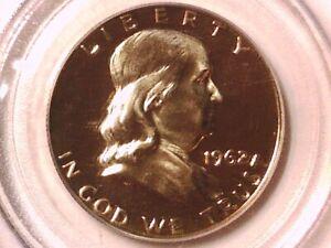 1962 Proof  Franklin Half Dollar PCGS PR 66 CAM 3632981