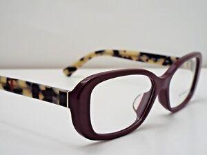 Authentic Burberry BE2228F 3602 Burgundy Eyeglasses Frame DEMO MODEL $260