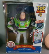 Toy Story 4 Buzz Lightyear With Interactivedrop Down Action