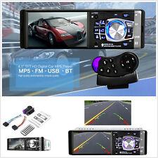 "4.1"" Bluetooth In-Dash Radio Stereo HD Auto Car MP5 MP3 Video Player FM USB AUX"