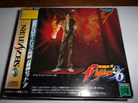 The King of Fighters 96 - SNK 1996 - SEGA Saturn NTSC-J