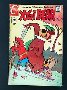 YOGI BEAR #2 CHARLTON COMICS 1971 FN-