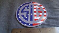 Sig Sauer RWB Round Decal Sticker