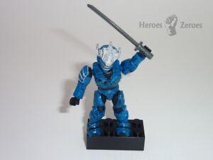 Halo Mega Bloks UNSC Hayabusa Minifigure VERY RARE BLUE Microsoft Mattel