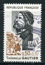 STAMP / TIMBRE FRANCE OBLITERE N° 1728 THEOPHILE GAUTIER