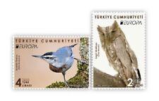 TURKEY 2019 - EUROPA 2019 (NATIONAL BIRDS), TREE, OWL, Mi: #4492/4493