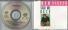 Il Harrow CD-Single Take me back (C) 1989