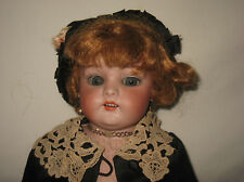 """Antique 22"""" Simon & Halbig Bisque Shoulder Head Doll   MB12"""