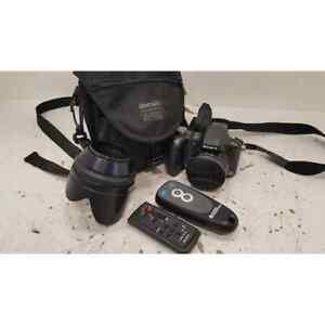 Sony DSC-H50 Digital Camera with Xtras