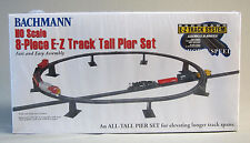 BACHMANN HO E-Z TRACK TALL PIER SET 8 Pieces train bridge supports BAC 44472 NEW