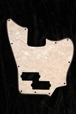 Fender MIM Jaguar Bass Standard Pickguard. 4 Ply White Pearl