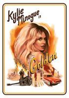 Kylie Minogue . Golden Tour 2018-2019    ***  Golden Tour  MAGNET 30 cm