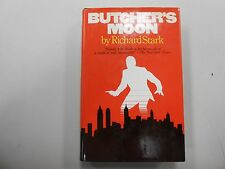 SIGNED Butcher's Moon by Richard Stark (Donald E. Westlake)!(1974, Random House)