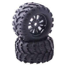 4PCS RC Car Off Road 1/8 Monster Truck Bigfoot Tyres Tires 17mm HEX Wheel Rim