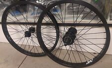 "20"" FREECOASTER WHEEL SET RIGHT SIDE DRIVE BLACK RIMS, BLACK HUBS FIT S&M"