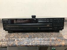 New listing Sony Compact Disc Cd Player Cdp-C70 w/ Sony Rm-D335 Remote