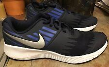 "Nike ""Star Runner� Sz 4Y Grade School Boys Running Shoe Dk Blue Nwt"