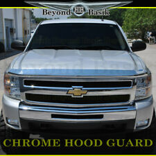 2007-2013 CHEVY Silverado 1500 Chrome Bug Shield Deflector Hood Guard Protector