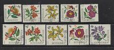 BURUNDI - 141-155 - USED - 1966 - FLOWERS