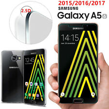 HOUSSE COQUE SILICONE+ VERRE TREMPE film protection Samsung Galaxy A5 2016 /2017