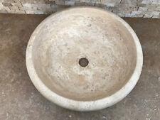 Lavabo - Lavandino - Lavello Bagno in pietra fatto a mano cm 42x15
