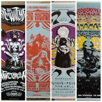 Gig poster lot, psychedelic poster lot,13x19 S/N limited edition artist proof