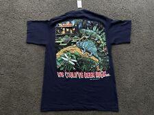 NWT 1997 Budweiser Lizards T Shirt We Could've Been Huge L Frogs Anheuser-Busch