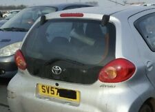 TOYOTA AYGO REAR TAILGATE/ REAR TAIL BOOT GLASS 2005/2012