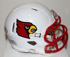 2016 Lamar Jackson Louisville Cardinals Heisman Custom Riddell Mini Helmet