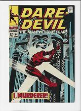 Daredevil #44 (Sept. 1968, Marvel) Vf/Nm (9.0) Gene Colan Art !