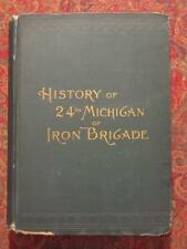 SIGNED - IRON BRIGADE 24th MICHIGAN INFANTRY - SIGNED BY ORIGINAL UNIT MEMBER